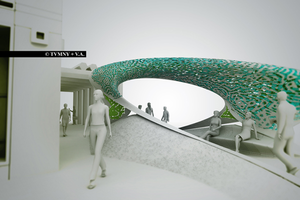 Gate Wave – футуристические «ворота» в Редондо-Бич от американских архитекторов