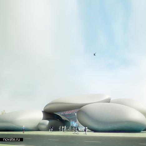 Проект Батумского аквариума от Henning Larsen Architects