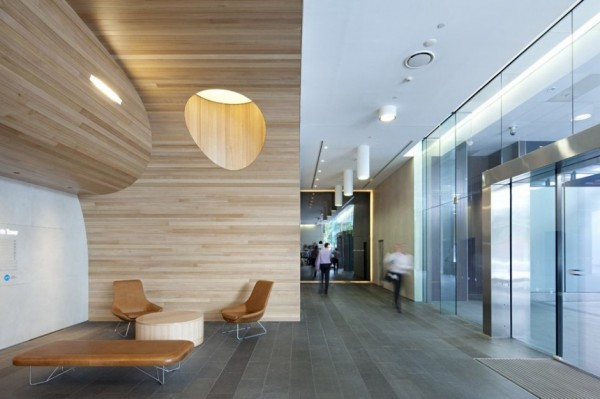 Green Square North Lobby – ультра-современная реконструкция лобби в австралийском офисе