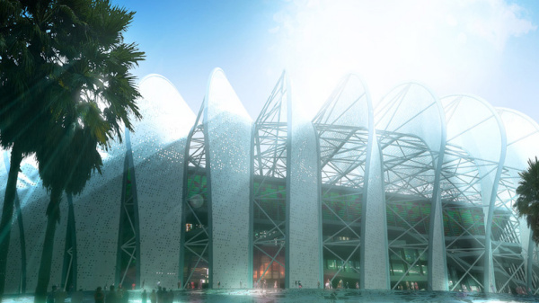 Проект Grande stade de Casablanca от Scau и Archidesign в Марокко