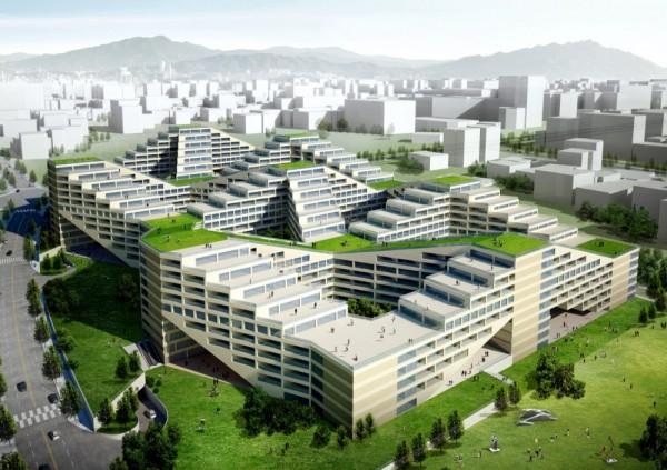 Комплекс The Great Wall от Yamasaki Ku Hong Associates Design Lab
