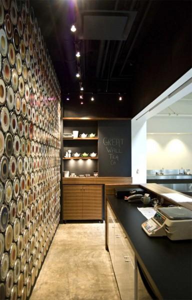 Интерьер чайного бара Great Wall Tea от Marianne Amodio Architecture Studio