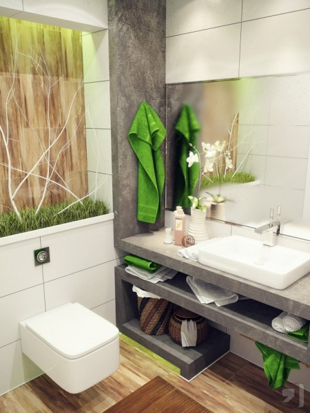 New bathroom designs for small spaces
