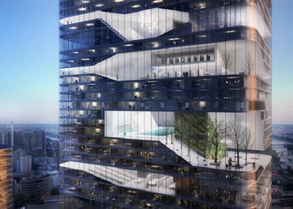Проект Grenelle Tower от Atelier Zundel and Cristea в Париже