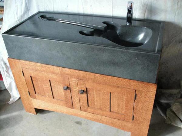 Guitar Sink – умывальник для меломанов