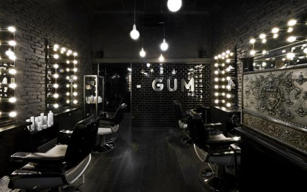 Винтажный салон прически Gum Salon в Милане