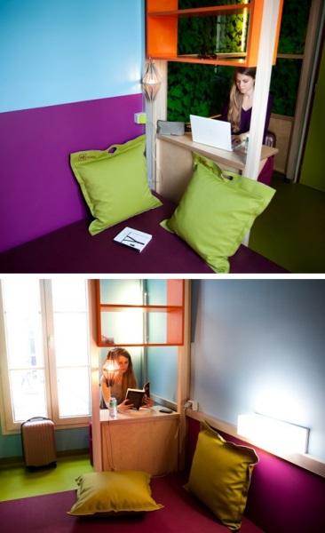 Онлайн-отель HI Matic от Матали Крассе (Matali Crasset) в Париже