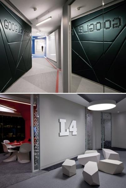 овая штаб-квартира компании Google в Лондоне