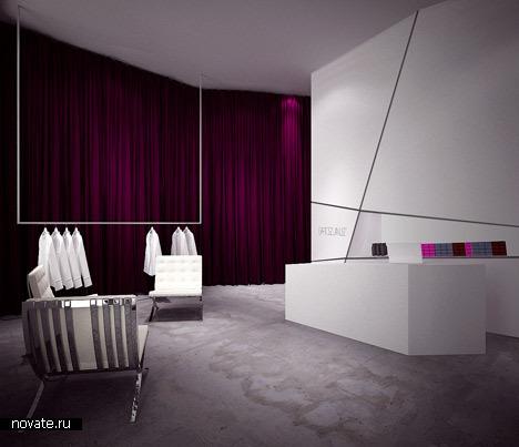 Интерьер салона красоты от moomoo architects в