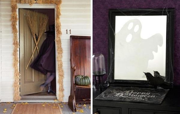 Элегантный и классический стили оформления праздника Halloween