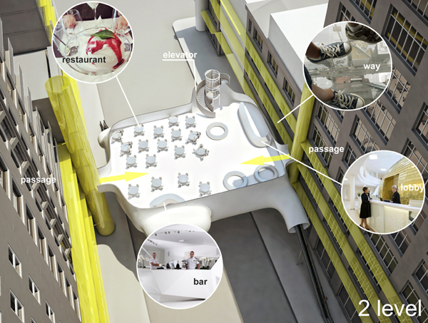 New Hotel Typlogy – футуристический проект отеля нового типа