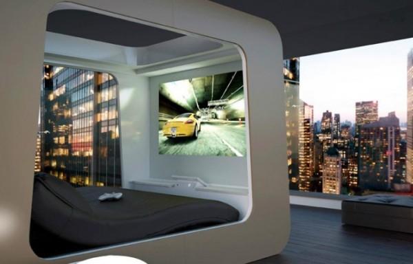 Ultimate Luxury Bed многофункциональная кровать от HiCan