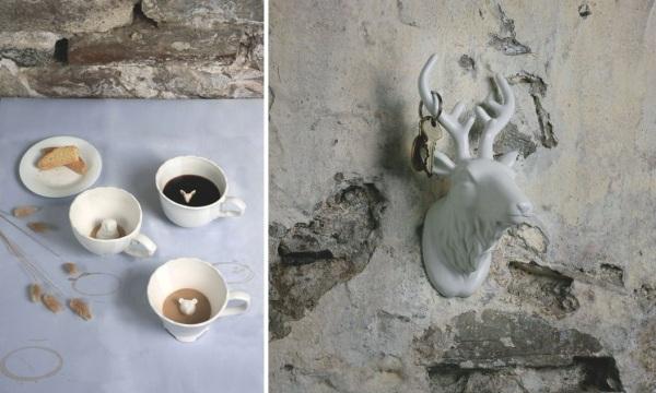 Коллекция керамики Hidden Animal Teacup от Ange-line Tetrault