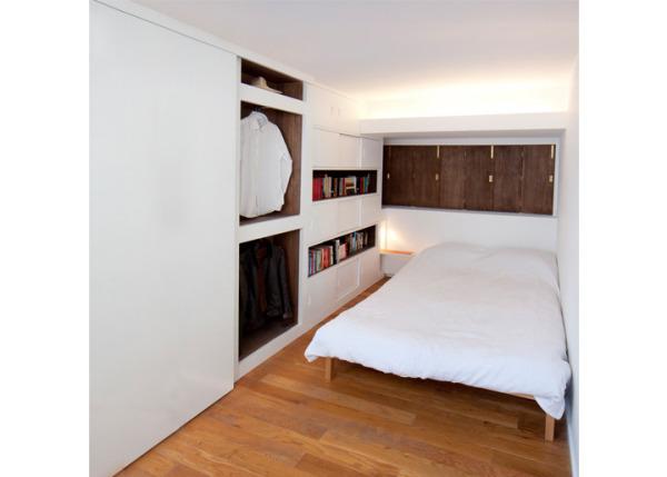Интегрированная спальня Hideaway Bedroom от alma-nac
