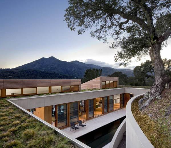 Hillside Residence – современная горная «келья» с видом на Сан-Франциско