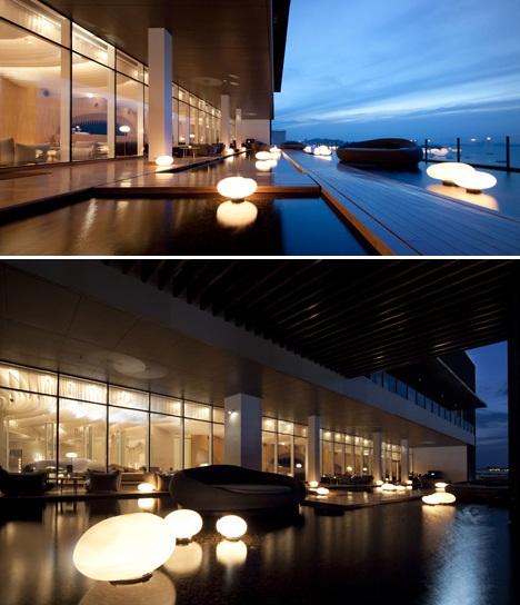 Интерьер отеля Hilton Hotel Pattaya в Таиланде