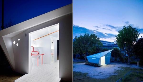 Проект общественных туалетов для Хиросимы Hiroshima Park Restrooms