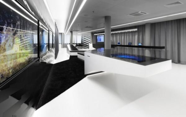 Microsoft's Briefing Center – динамичное офисное пространство для компании Microsoft