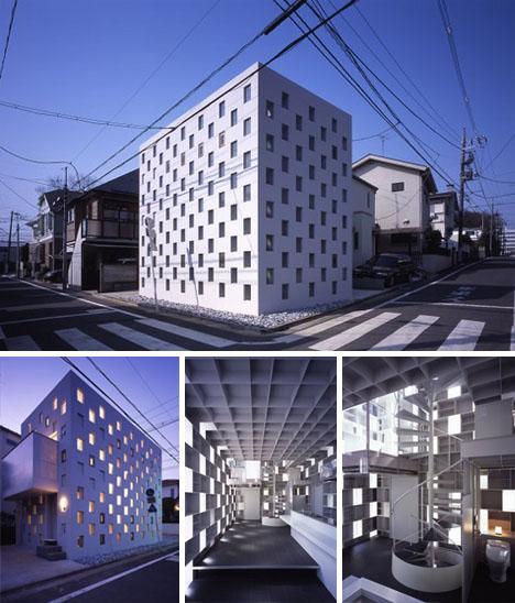 Жилой многоквартирный дом от Atelier TEKUTO