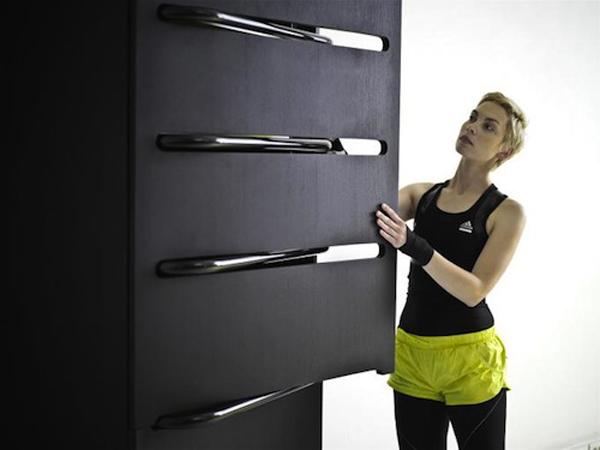Home Fitness - современная мебель и спортзал от Люси Колдова (Lucie Koldova)