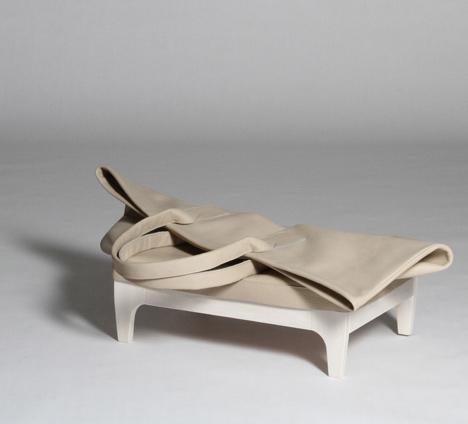 Сумка-тумба от Анны Лоренц (Anne Lorenz)