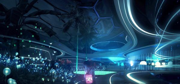 Проект структуры Home of the future от LAVA