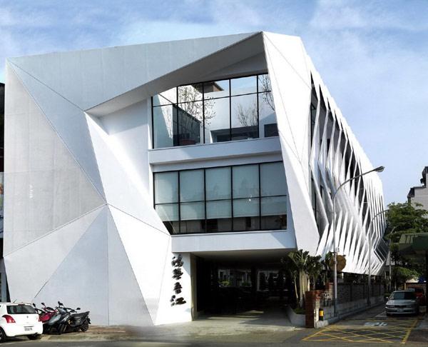Hongzhu Housing Sales Center - современная интерпретация китайского дракона в Тайване