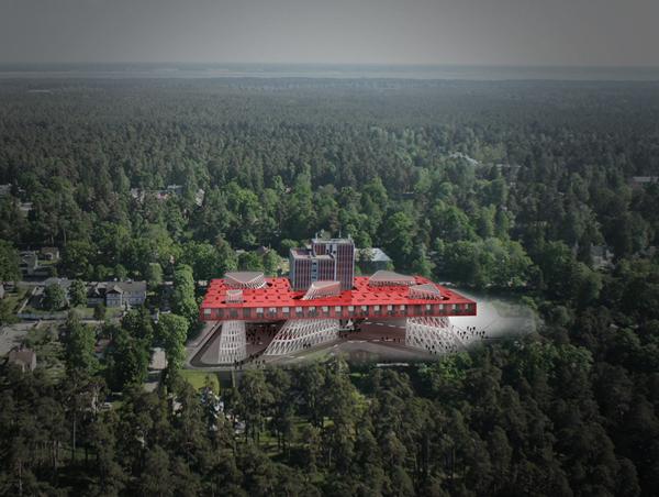 Hotel Liesma - проект музыкального отеля в Юрмале от Hotel Liesma