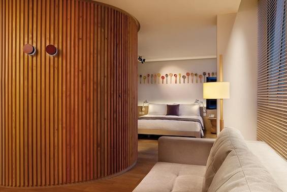 Отель Hotel Madera Signature Suites в Гонконге от La Granja Design