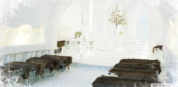 Отель, в который нельзя приехать дважды. Ледяной комплекс Hotel de Glace в Канаде
