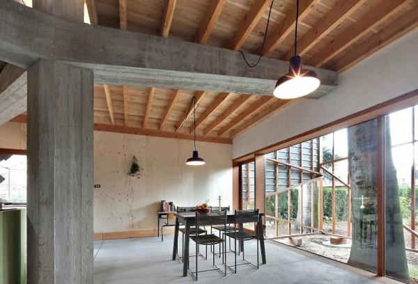 House Bern Heim Beuk – жилой дом, построенный вокруг дерева от Architecten De Vylder Vinck Taillieu