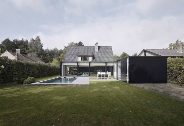 Расширение частного дома House DS в Бельгии