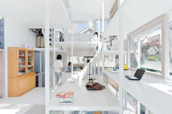 Жилой дом House N от Sou Fujimoto Architects