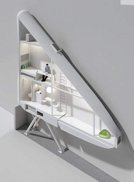 Концепт самого узкого в мире дома от польских архитекторов
