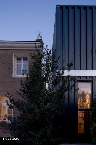 Расширение площади жилого дома в пригороде Нанта (Франция)