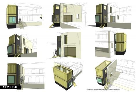 Расширение площади жилого дома в пригороде Нанта