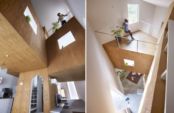 Жилой дом House in Fukawa от Suppose Design Office в Японии