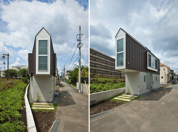 House in Horinouchi - жилой дом от Mizuishi Architect Atelier в Японии