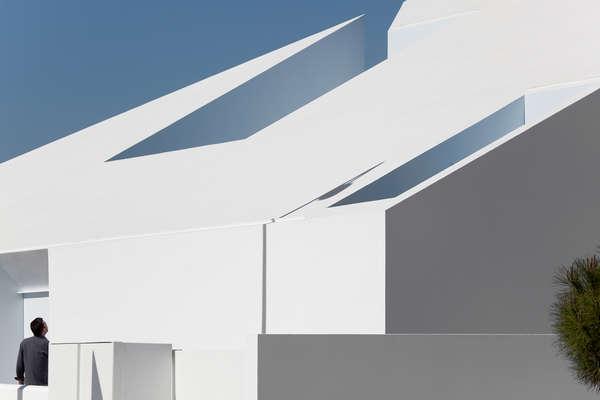Загородный дом House in Possanco от ARX Portugal Arquitectos в португалии