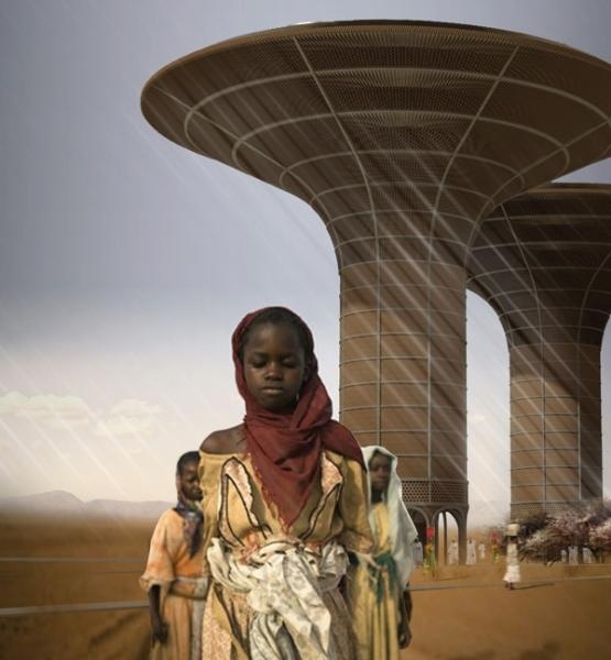 Многоцелевой небоскреб, разработаный архитектором Хугоном Ковальски (Hugon Kowalski) для Судана