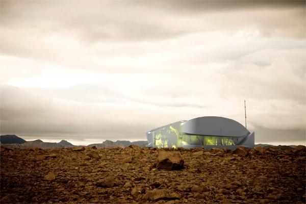 Hydro House - дом для комфортной жизни в пустыне от Rael San Fratello Architects