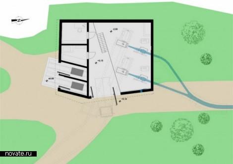 Гидроэлектростанция от Monovolume architecture + design в Италии