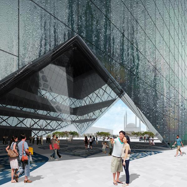 Istanbul's Disaster Prevention Centre - Проект ультра-современного центра по предотвращению стихийных бедствий в Турции
