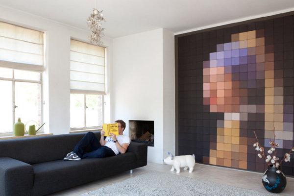 Декоративные настенные панели от голландских дизайнеров из IXXI