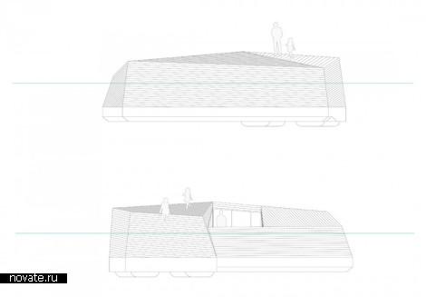 Подводные коттеджи Icebergs от Даниэля Андерссона (Daniel Andersson)
