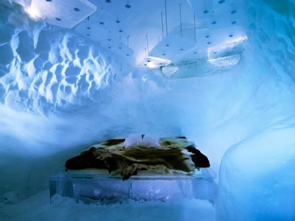 Icehotel – «одноразовый» ледяной отель в Швеции