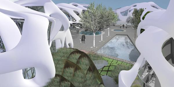 Проект реорганизации городской типологии Лестера (Великобритания)
