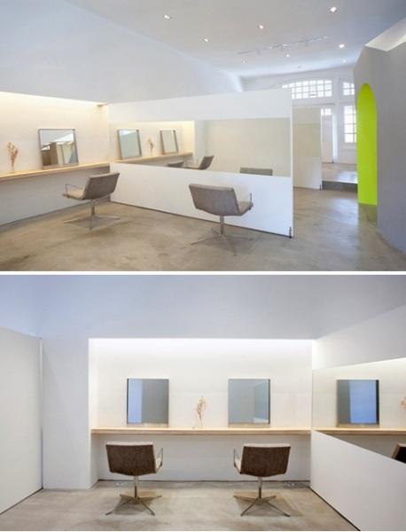 Салон красоты KIZUKI + LIM от Терухиро Янагихара (Teruhiro Yanagihara)