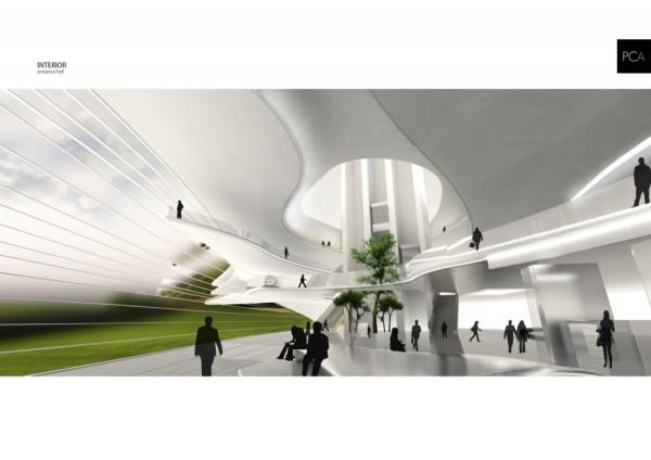 Конкурсный проект морского терминала в городе Гаосюн (Тайвань) от Paolo Cucchi Architects