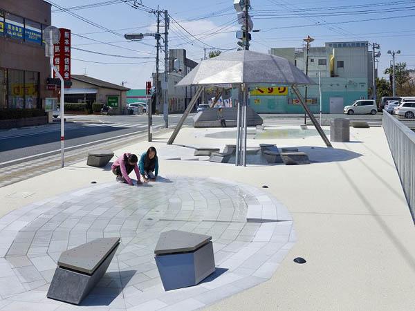 Kiriake Miniature Water Park - проект миниатюрного водного парка от Такао Шиотсука (Takao Shiotsuka)